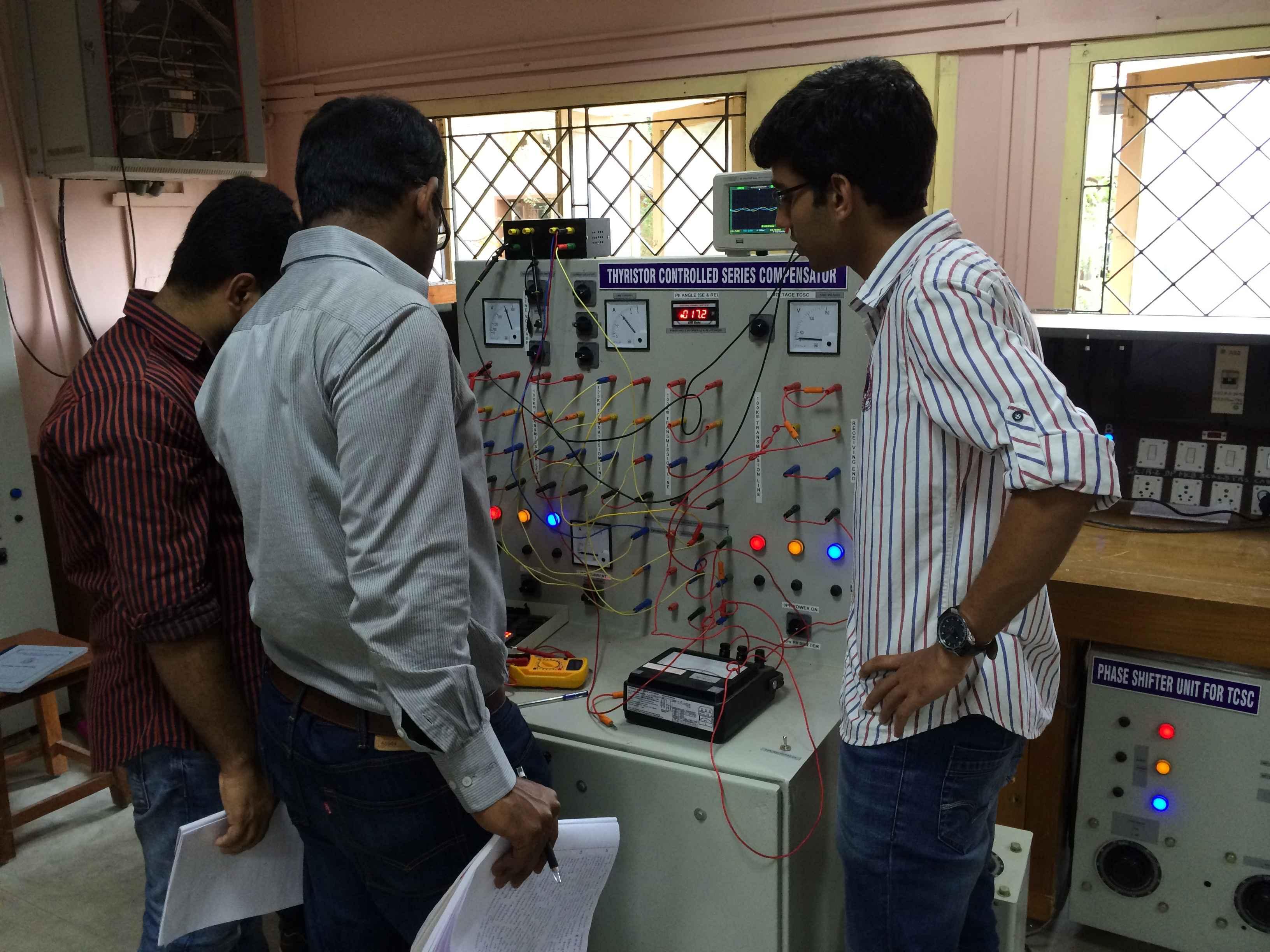 NIT Trichy - Power Systems Lab
