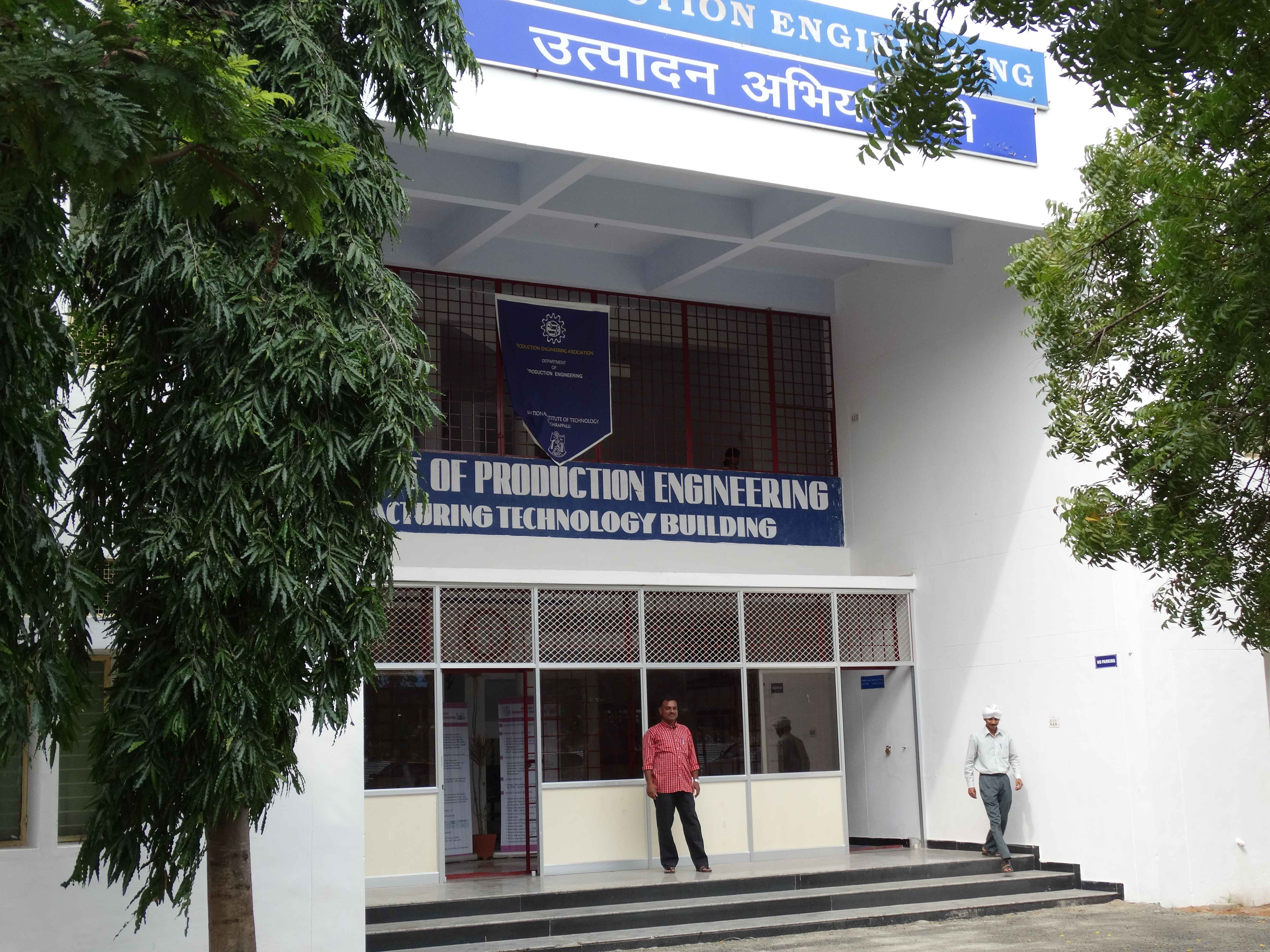 Department of Production Engineering